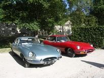 Les Jaguar Type E de Claude et Bernard
